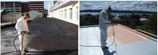 акриловая гидроизоляция крыши