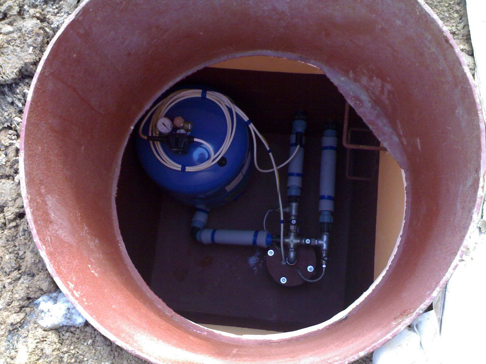 Обустройство скважины для водоснабжения
