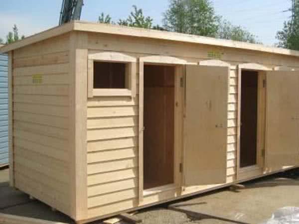 Туалетно-душевые кабины