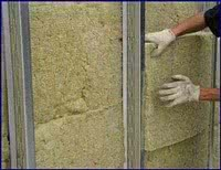 Утепление деревянного фасада минеральным волокном