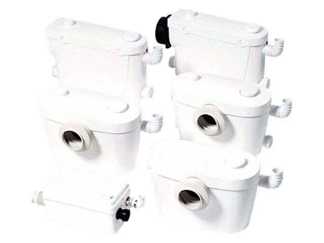 Фекальный насос для домашней канализации
