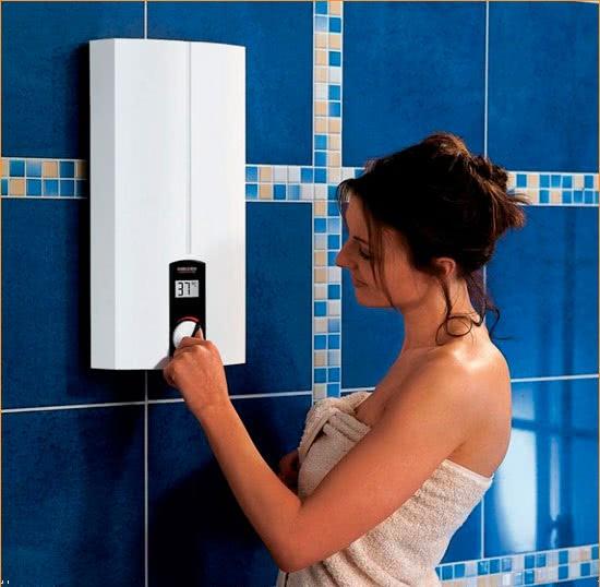 Кнопки на газовых проточных нагревателях