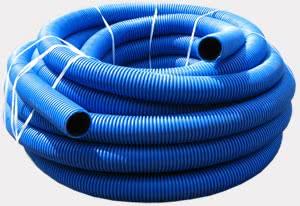 Укладка гибкой трубы для канализации