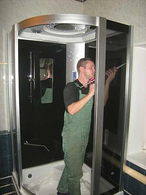 Гидроизоляция душевой кабины