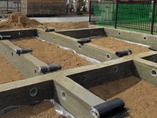 гидроизоляция стены в грунте
