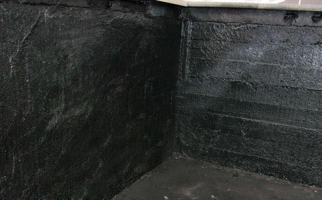 Гидроизоляция погреба жидкой резиной