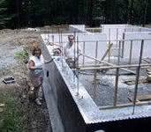 горизонтальная оклеечная гидроизоляция