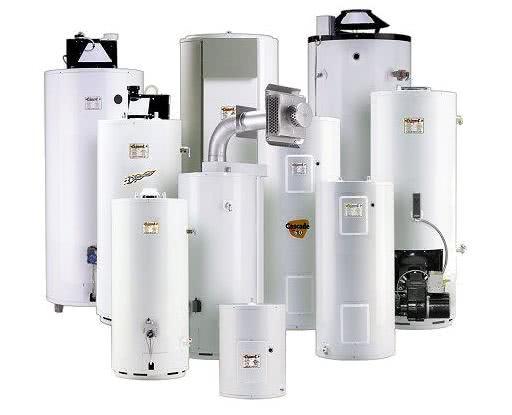 Виды водонагревателей по СНиП