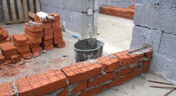 Армирование кирпичной стены