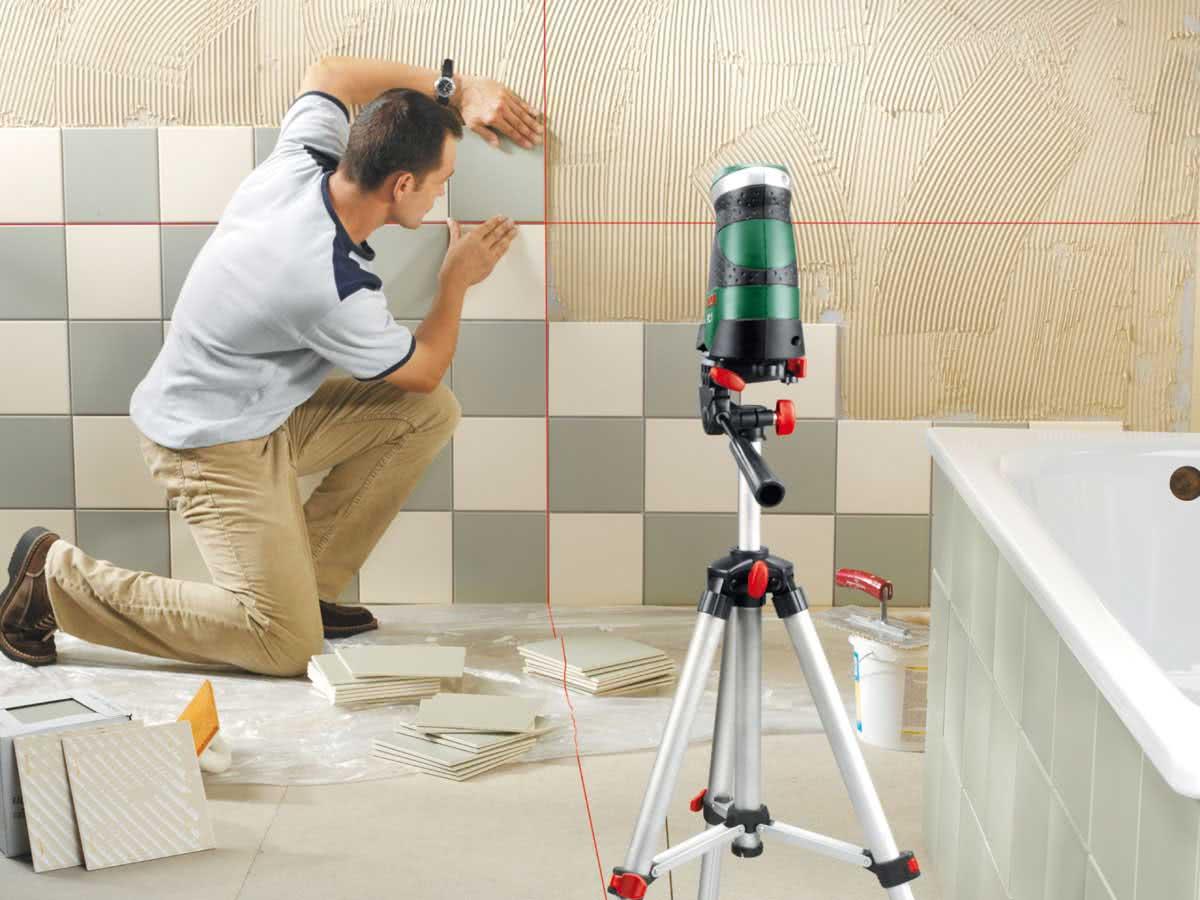Как класть керамическую плитку в туалете