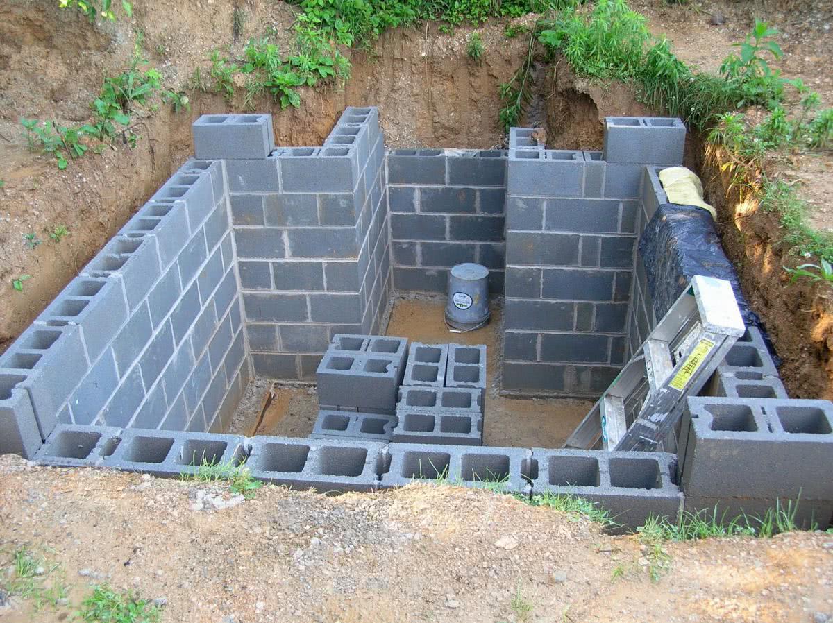 Как самостоятельно построить погреб