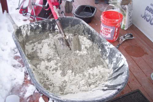 Приготовление бетона под фундамент своими руками