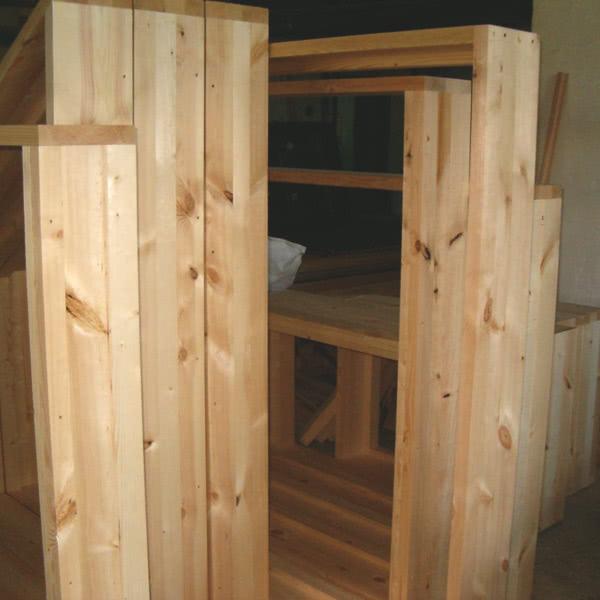 Короб для деревянного окна