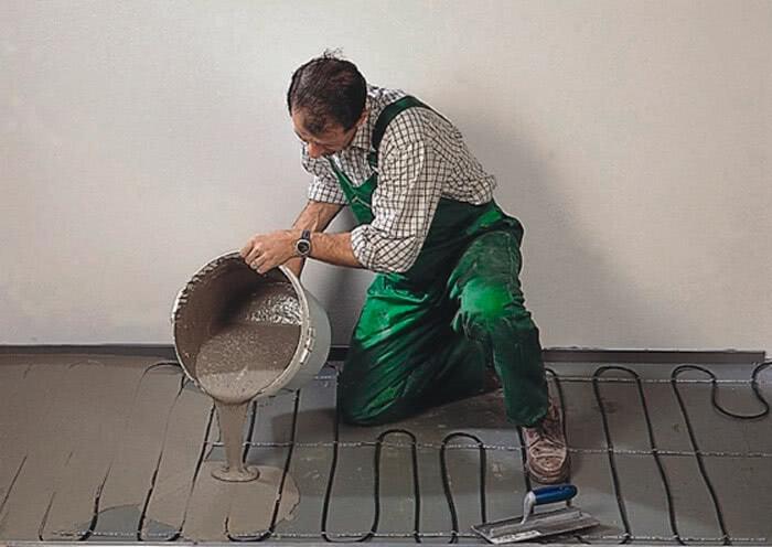 Подготовка пола перед укладкой керамогранита