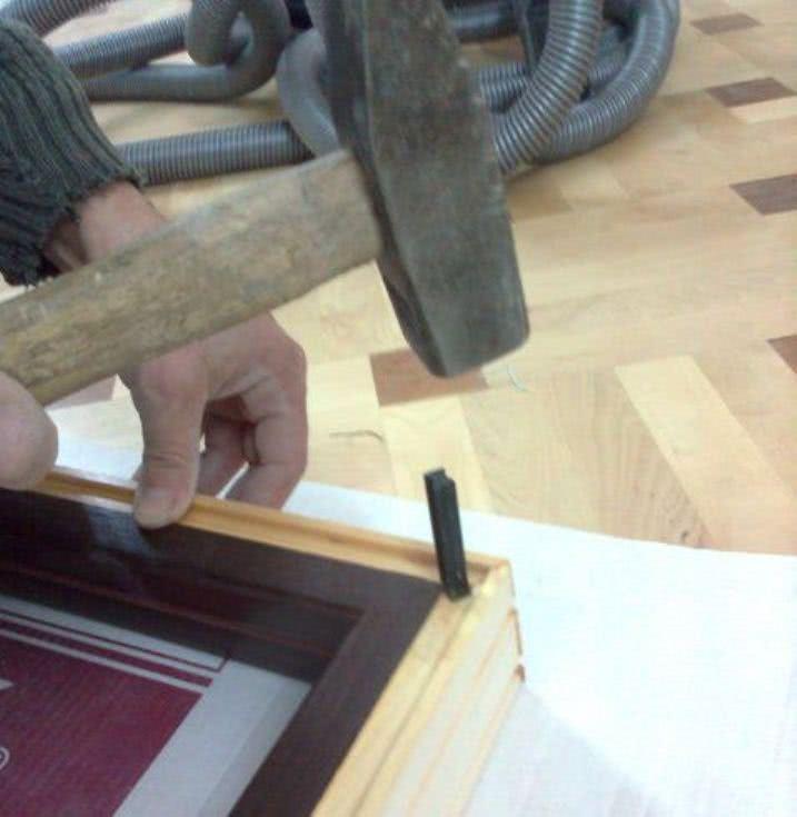 Соединение дверной коробки шпонкой ласточкин хвост
