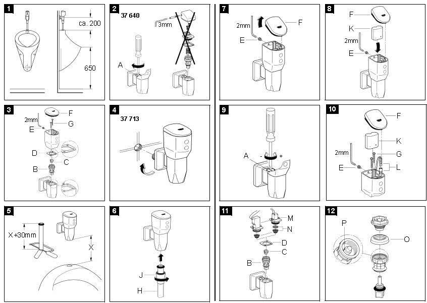 Устройство автоматического смыва писсуара
