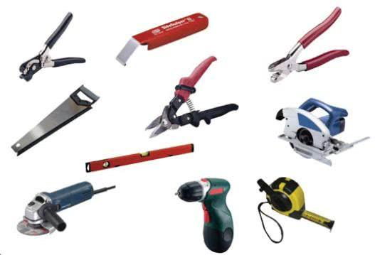 Инструменты для монтажа пластика