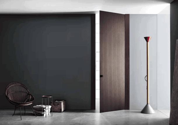 Шпонированные двери межкомнатные