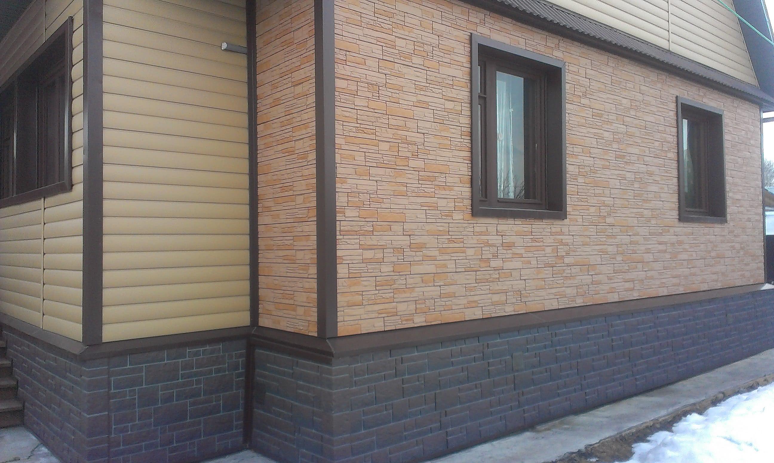 Выбор сайдинга для фасада дома