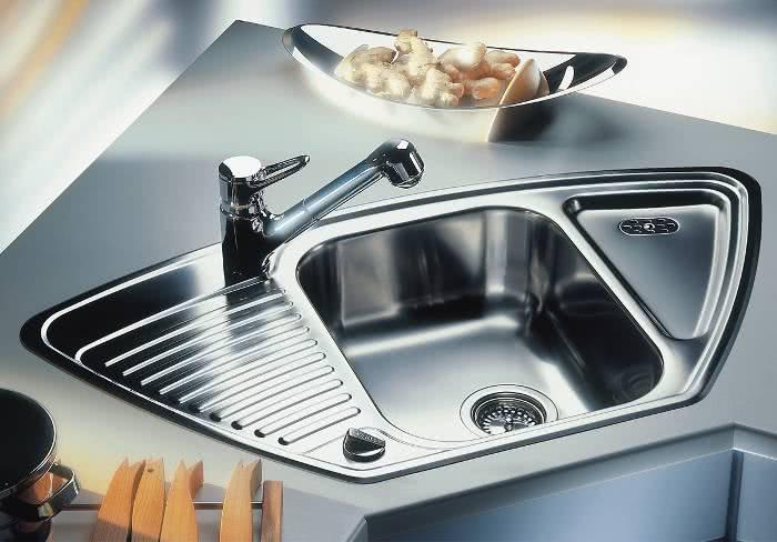 Классификация кухонных моек