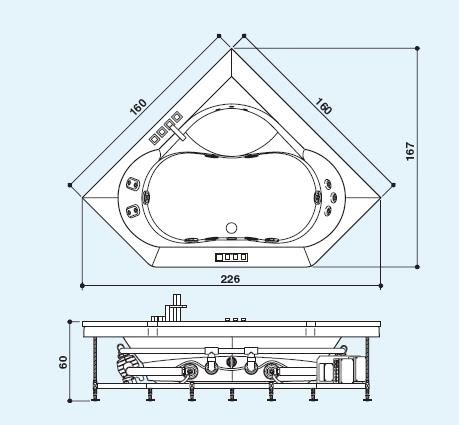 Особенности конструкции ванн джакузи