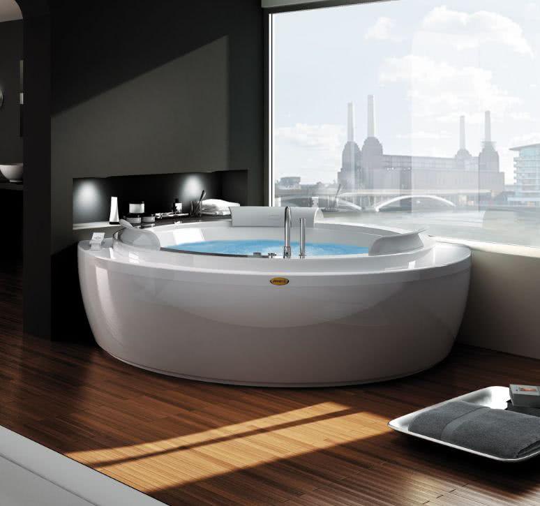 Как выбрать угловую ванну джакузи