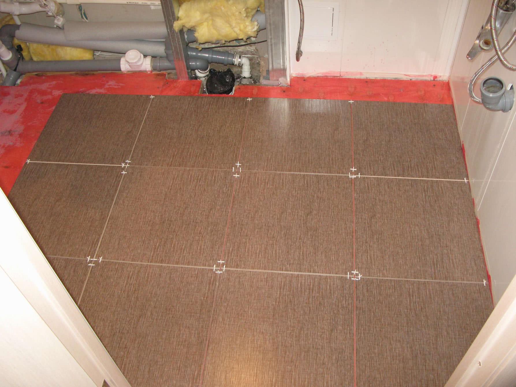 Крестики для соблюдения толщины швов