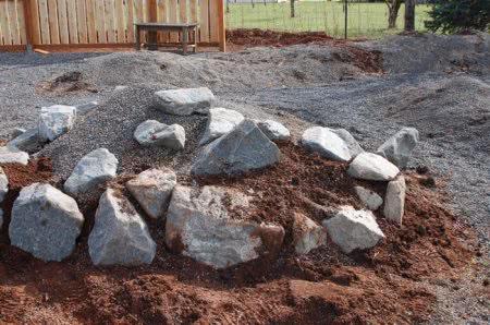 Выбор и размещение камней