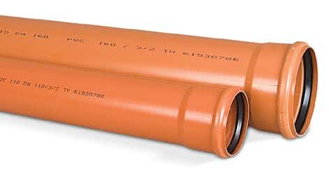Наружная канализация 110 мм
