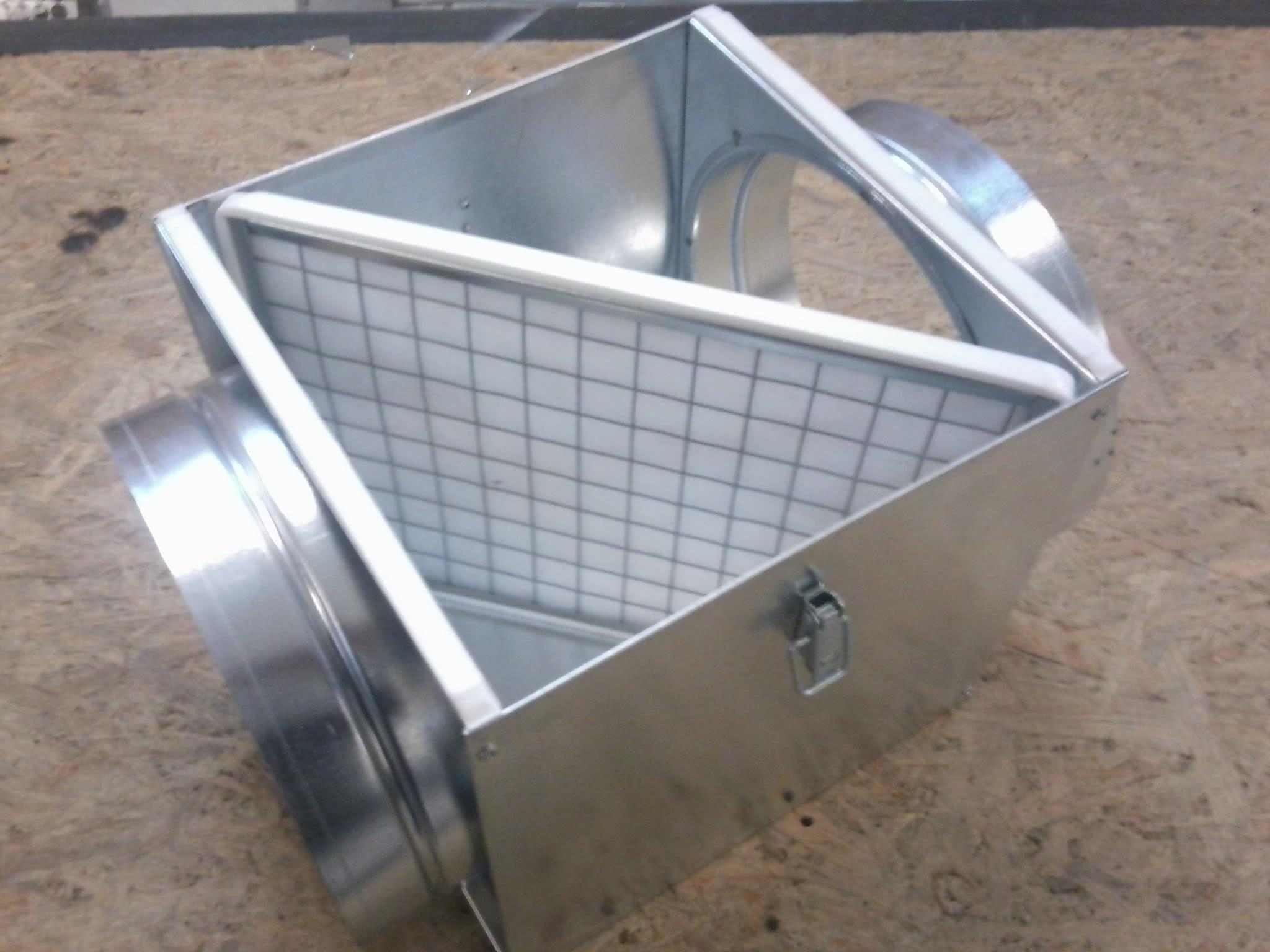 Фильтрующие устройства для вентиляции