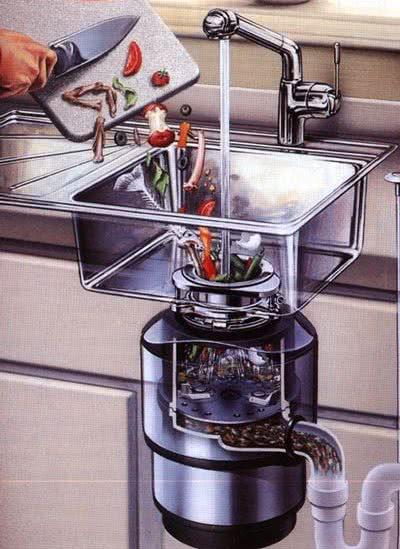 Достоинства кухонных измельчителей