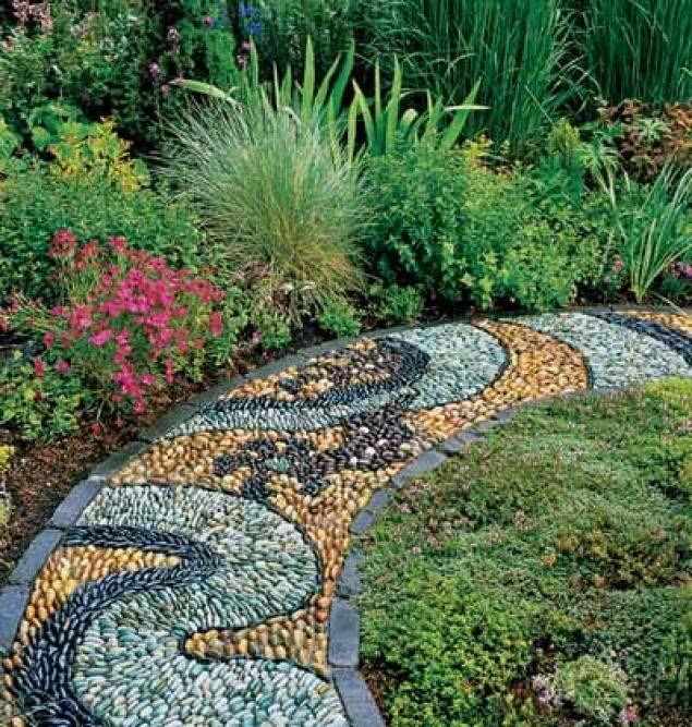 Дорожки в садовом дизайне