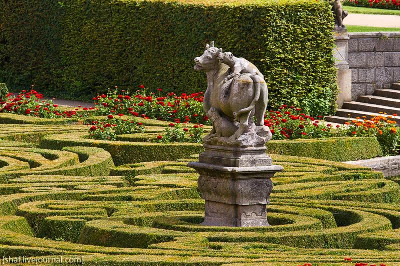 Палисадники в дворцовом стиле