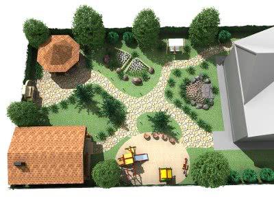 Планирование дизайна участка или сада