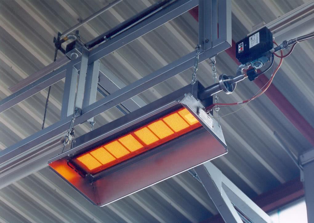 система панельно лучистого отопления