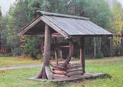 Крыша колодца