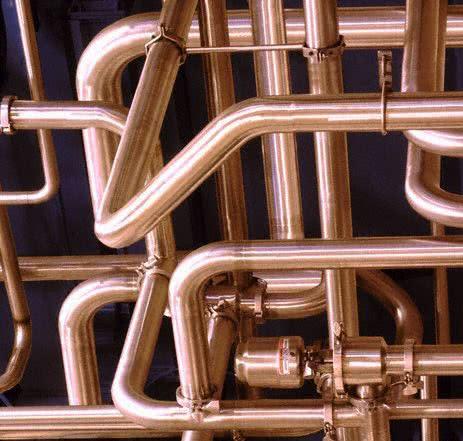 система отопления из металлических труб