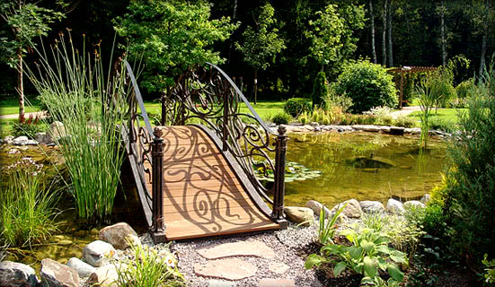 Классификация садовых мостиков