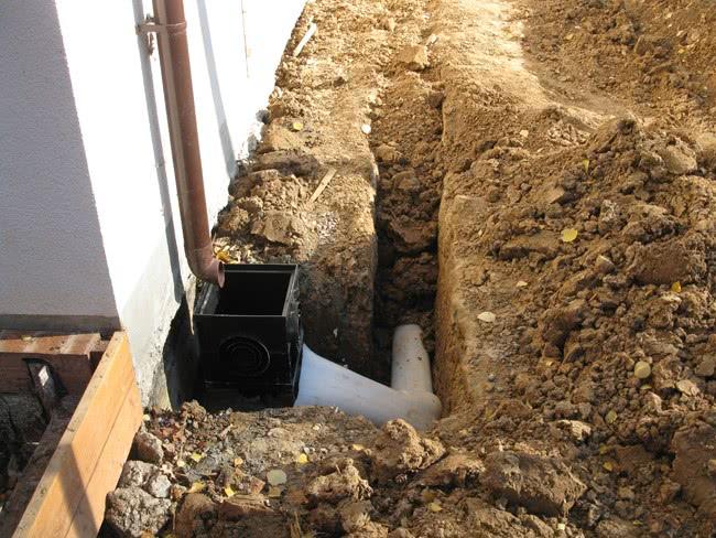 Угол наклона канализации