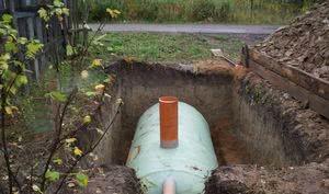 Накопительная канализация с анаэробными бактериями