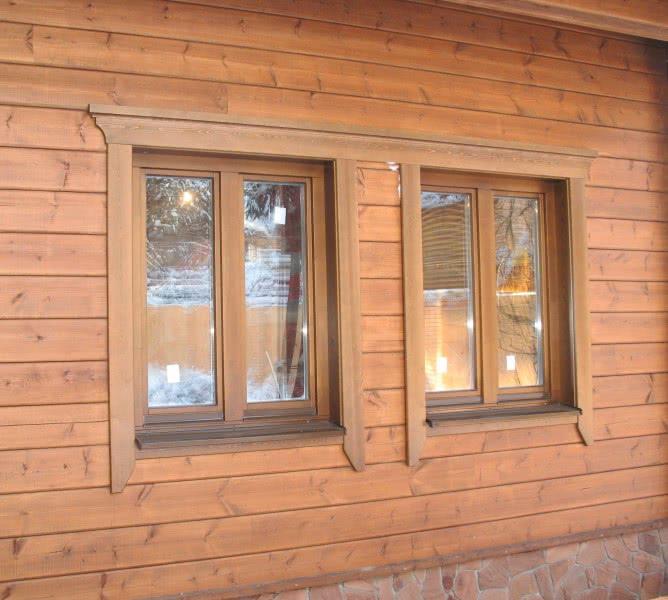 Наличники на окна деревянные