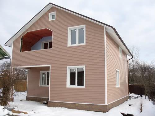 Дом из сайдинга