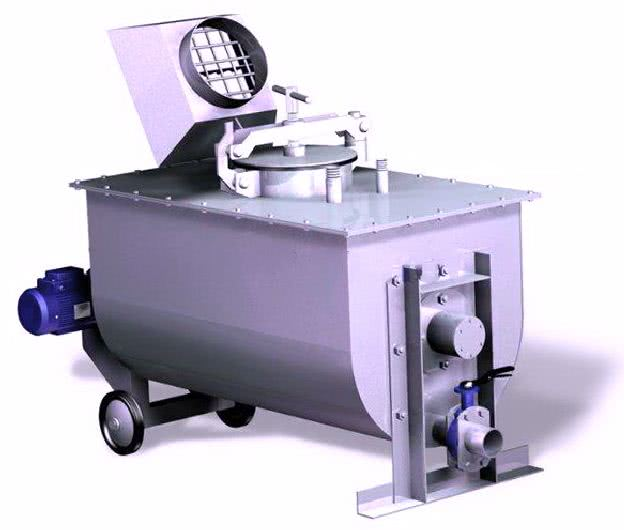 Установка для приготовления пенобетона (сухая минерализация)