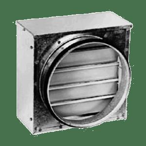 обратный клапан для естественной вентиляции