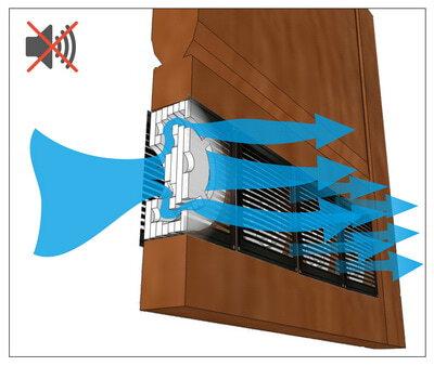 Приточный вентиляционный клапан