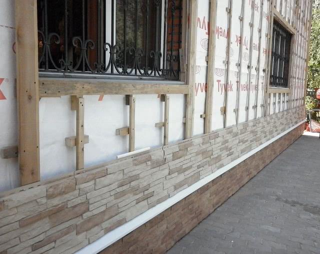 Гидроизоляция стены под сайдинг