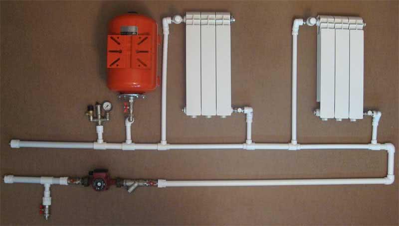 Отопление частного дома полипропиленовыми трубами
