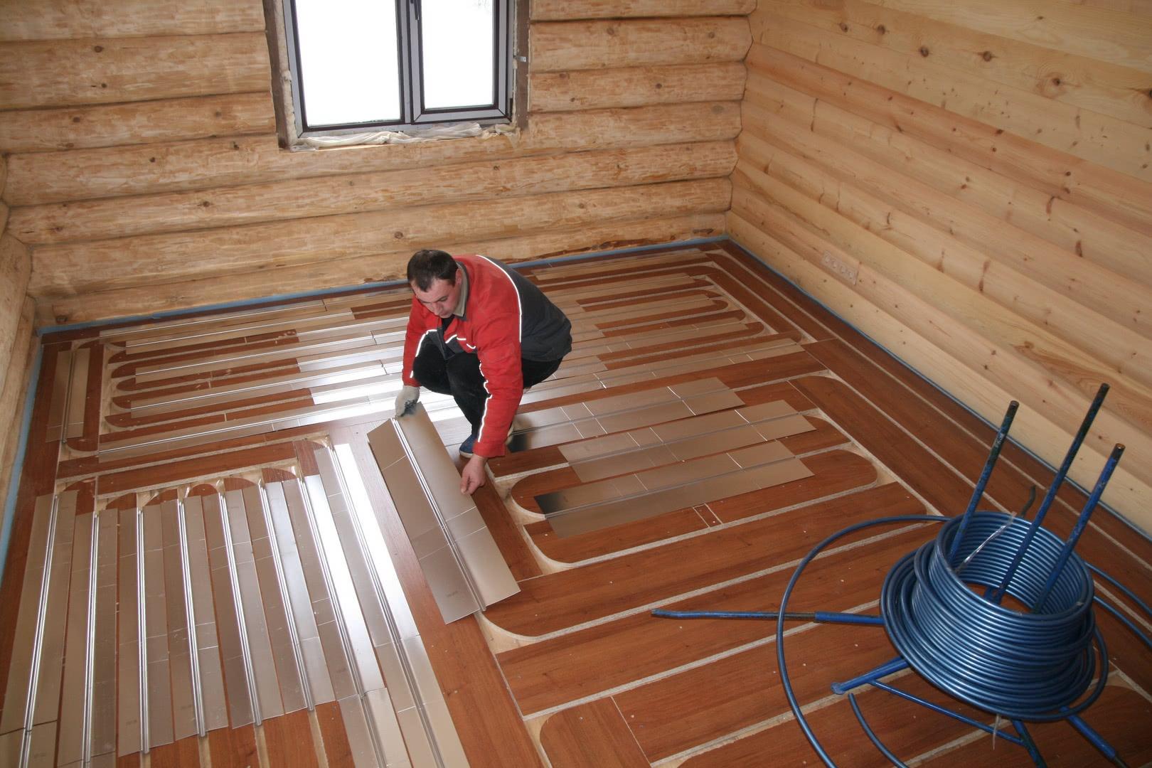 теплый пол для отопления дома