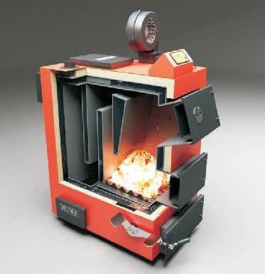котел для отопления дома углем