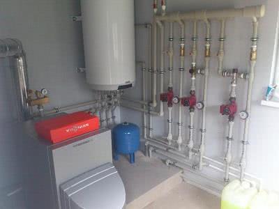 Устройство системы горячего водоснабжения